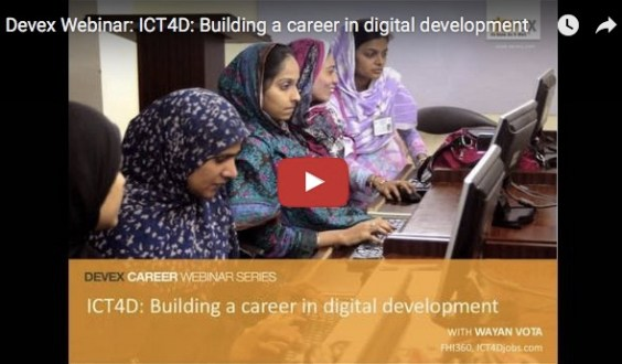 ICT4Djobs Webinar