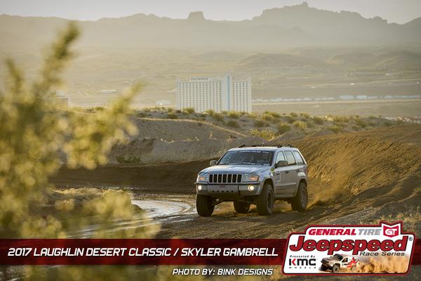 Skyler Gambrell, Jeepspeed, General Tire, KMC Wheels, Bink Designs, Laughlin