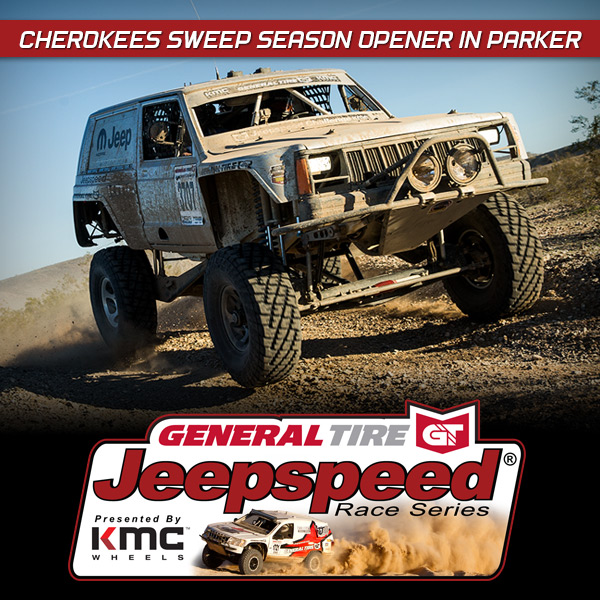 Jeepspeed Cherokees Sweep Season Opener In Parker