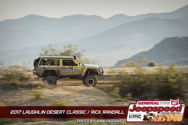 Rick Randall, Jeepspeed, KMC Wheels, General Tire, Bink Designs