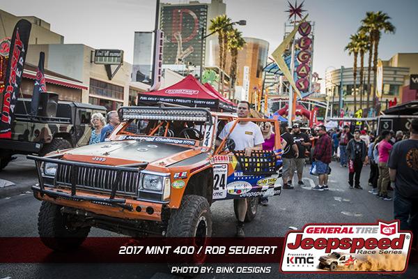 Jeepspeed, General Tire, The Mint 400, KMC Wheels, Bink Designs, Jeep