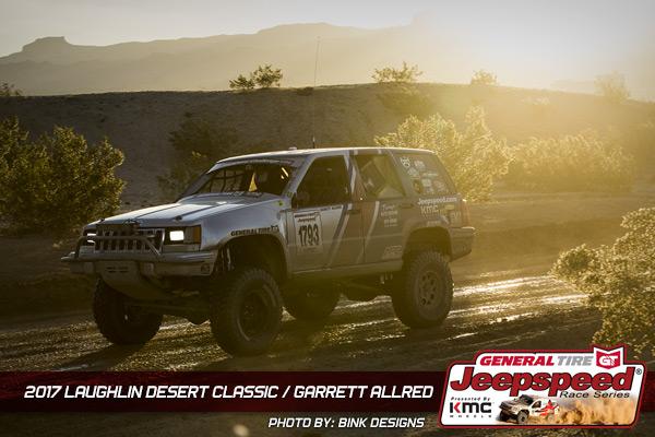 Garrett Allred, Jeepspeed, General Tire, KMC Wheels, Bink Designs