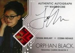 Orphan Black Trading Cards Season 3 - Autograph
