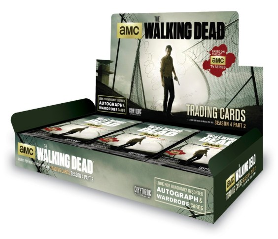 The Walking Dead Season 4, Part 2 Trading Card Box