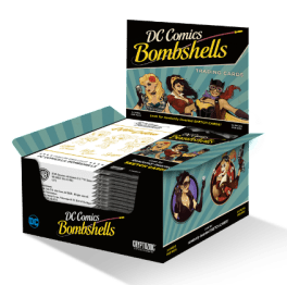 DC Bombshells Trading Cards