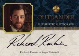 Richard Rankin Autograph Card