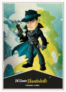 DC Bombshells Trading Cards - Chase 3 - Batman