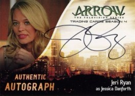 Arrow Trading Cards Season 4-Autograph Card-Jeri Ryan