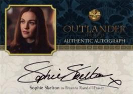 Sophie Skelton Autograph Card