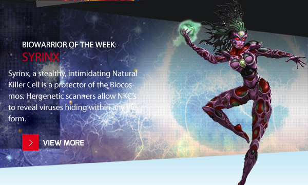 Biowarrior of the WWeek