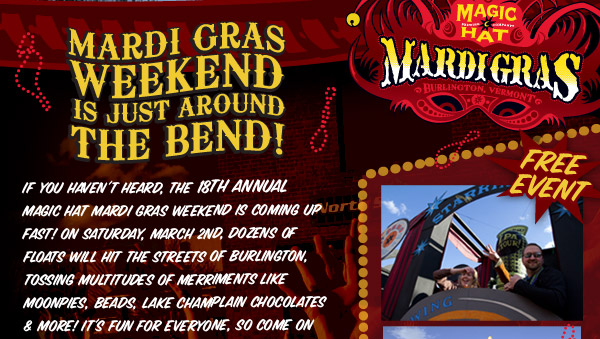 Mardi Gras is Just Around the Bend
