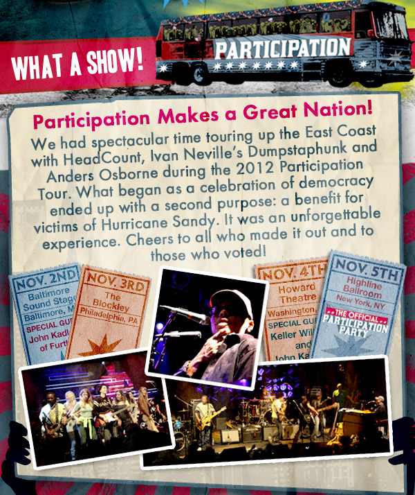 Participation Makes a Great Nation!