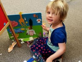 Beyond the book Toddler learning time