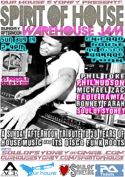 SPIRIT OF HOUSE THE WAREHOUSE PARTY TRIBUTE