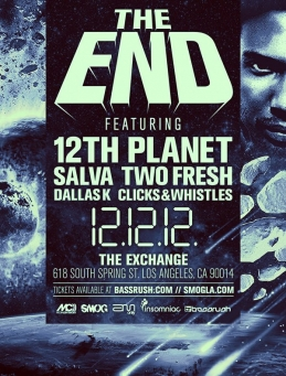 12th Planet - The End @ Exchange