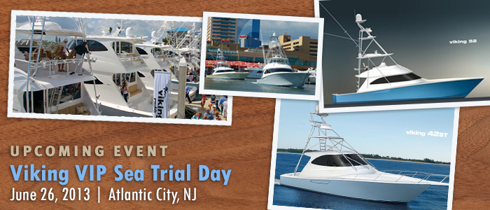 Viking Sea Trial Day