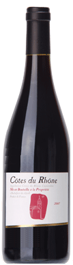Les Vignerons Du Castelas Côtes Du Rhône 2007