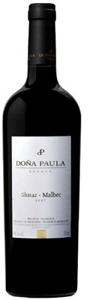 DOÑA PAULA ESTATE 2007 SHIRAZ/MALBEC