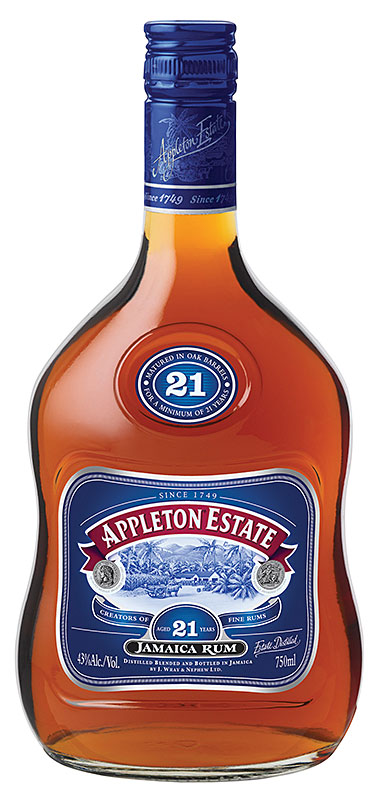 21-year-old Appleton Estate Jamaica Rum