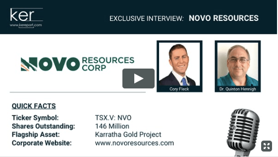 Paydirt TV | Novo Resources site visit November 2017