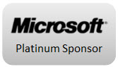 Microsoft, Platinum Sponsor