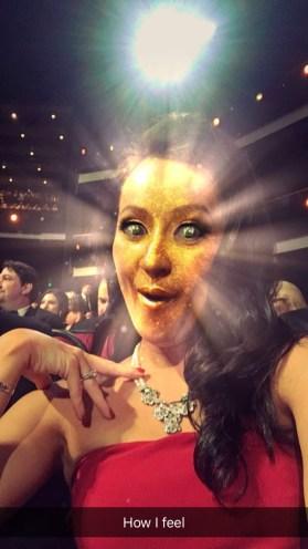 Josie Glitter Snapchat Filter