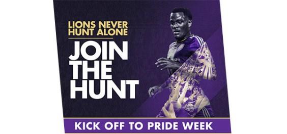 Kick off to Pride Week with Orlando City