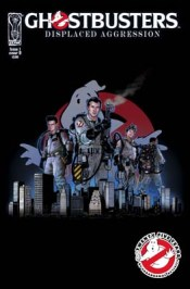 [Ghostbusters: Displaced Aggression TPB cover]