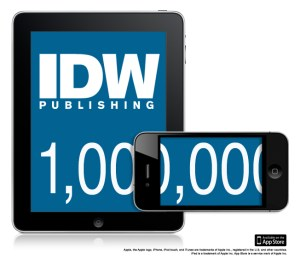 IDW Publishing Delivers 1M Apps.
