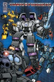 [Transformers #5 cover]