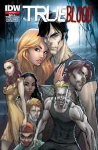 [True Blood #1 2nd Printing cover]