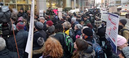 Crowd @ Dept of Homeland Security
