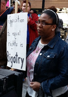 Opposition to equal rights is bigotry