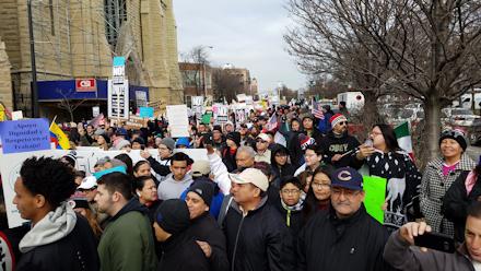 Marching on Ashland