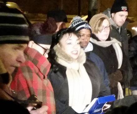 Tamir Rice vigil