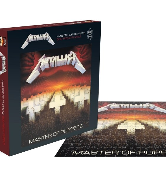 METALLICA puzzle jigsaws