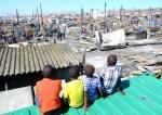 kids on shacks