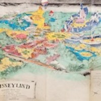 Walt Disney's ORIGINAL 1953 Plans For Disneyland up for auction!