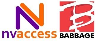 Logo nvaccess en babbage