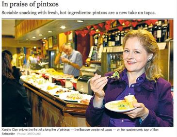 The Telegraph's Coverage of San Sebastian Food