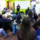 """Hometown Bicycles """"Why Jamis?"""" clinic had a record attendance!"""