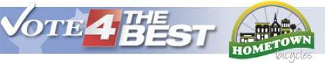Vote 4 the Best - Hometown Bicycles, Best Bike Shop