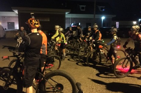 Friday Night Lights shop ride at Hometown Bicycles