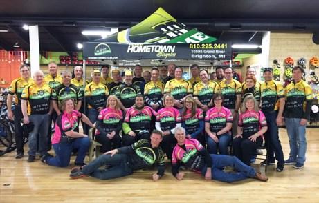 Team Hometown Bicycles 2017