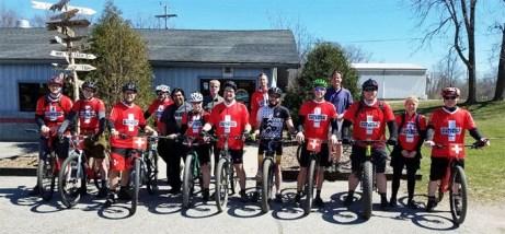 MCMBA's National Mountain Bike Patrol training at Hometown Bicycles