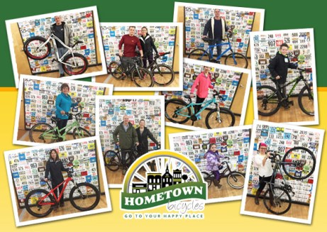 Happy Jamis owners who got their bikes at Hometown Bicycles!