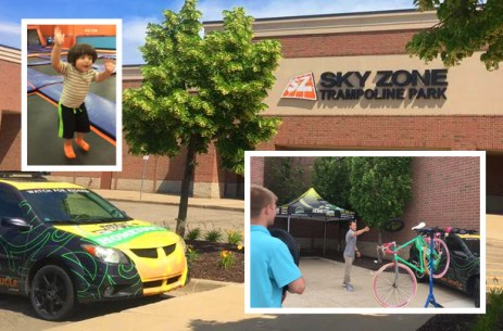 Hometown Bicycles partnered up with Sky Zone Indoor Trampoline Park of Brighton for their big Annual Summer Bash.