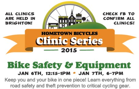 Hometown Bicycles 2015 Clinic Series