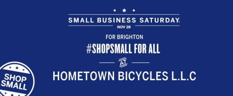 Shop Small at Hometown Bicycles