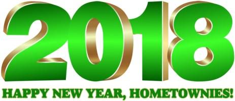 Happy New Year 2018, Hometownies!